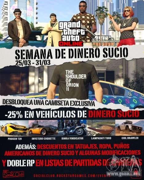 la voy a Habidas evento de la semana en GTA Online