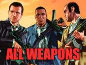 Todas las armas trucos para GTA 5