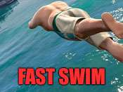 Rapido nadar trucos para GTA 5 en PC.