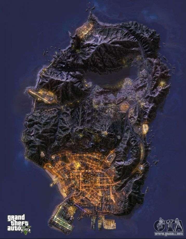 GTA 5 mapa  descargar todos los mapas de GTA 5
