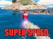 Super velocidad trucos para GTA 5 en PC.