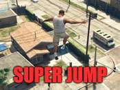 Super jump trucos para GTA 5 en PC.