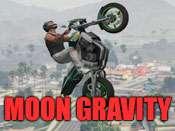 De la luna la gravedad trucos para GTA 5
