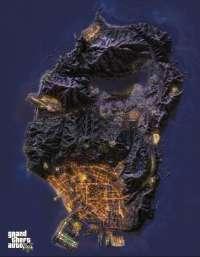 GTA 5 Mapa