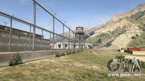 La cerca de Fort Zancudo en GTA 5
