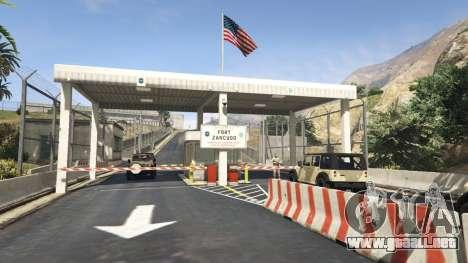 Fort Zancudo en GTA 5