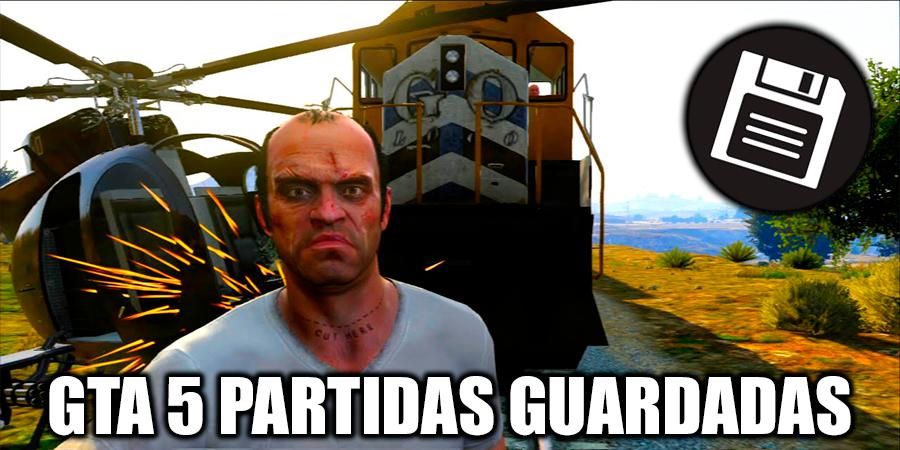 GTA 5 partidas guardadas