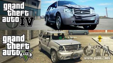 GTA 5 y GTA 4 comparación