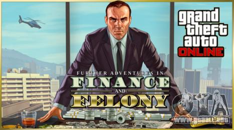 GTA Online: Nuevas Aventuras de Finanzas y Crimen trailer oficial