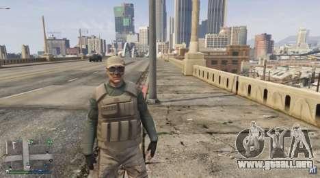 el Guardaespaldas traje para el GTA Online