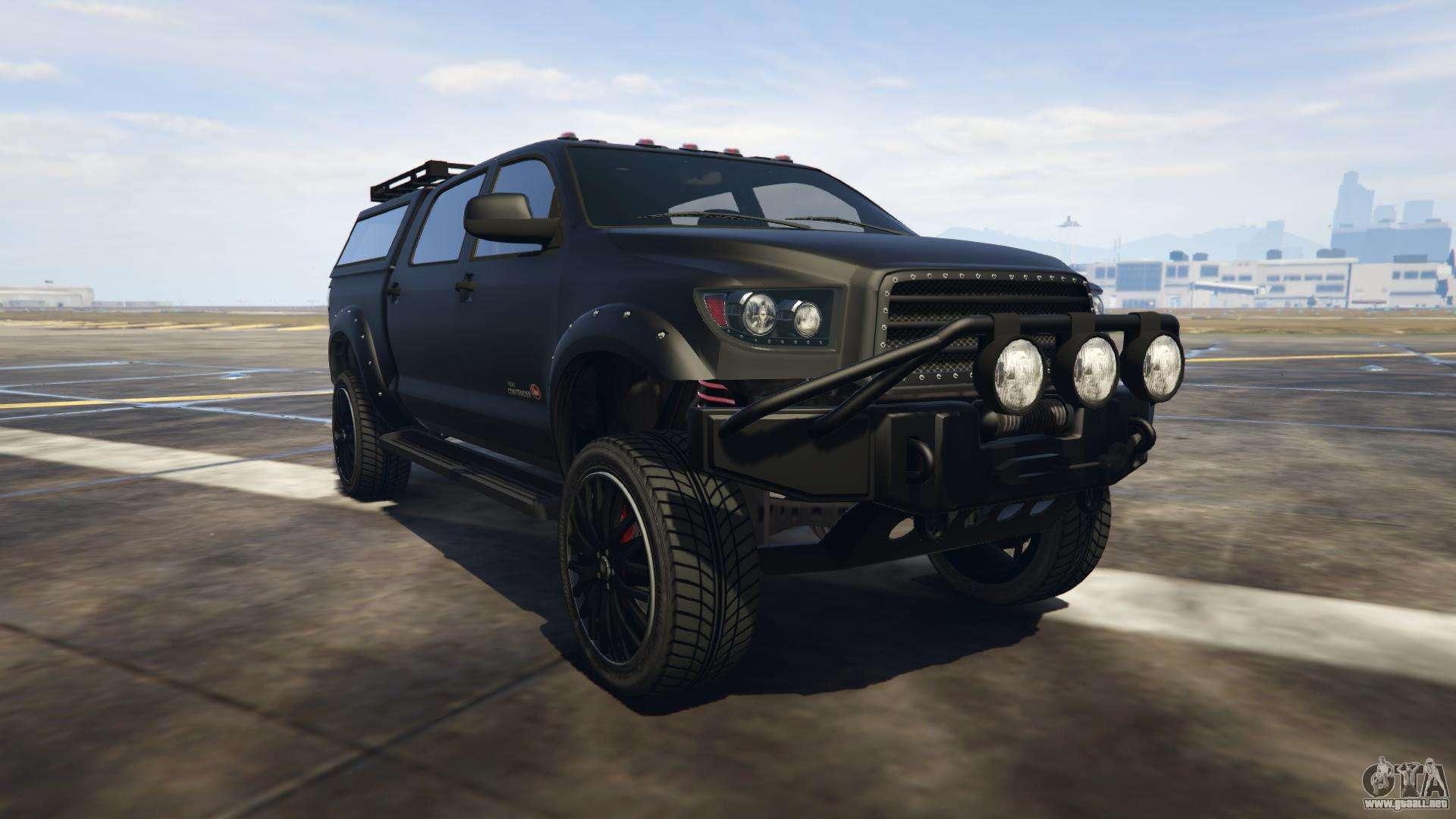 Vapid Contender de GTA online - vista frontal