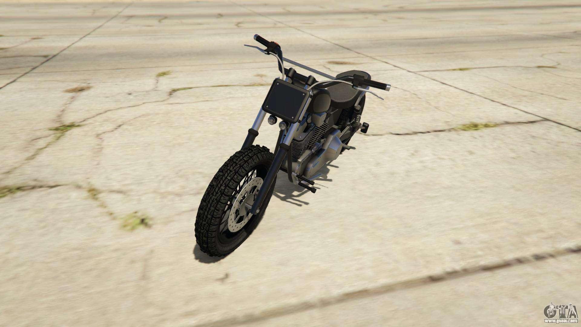Western Motorcycle Company Cliffhanger de GTA Online - vista frontal