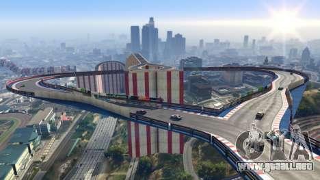 Custom stunt race GTA Online