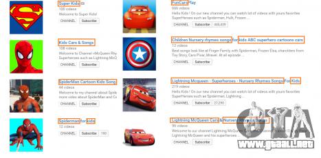 Ejemplos de canales en YouTube con videos de GTA 5