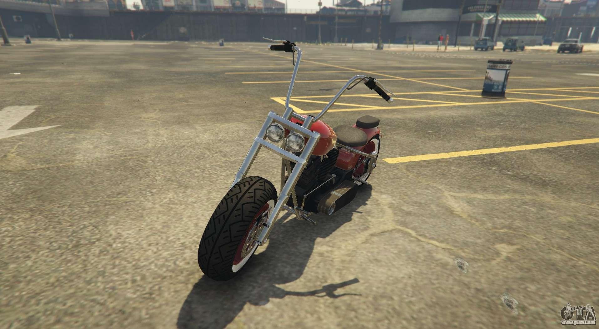 Nuevo helicóptero en GTA Online Western Motorcycle Company Chopper Zombie