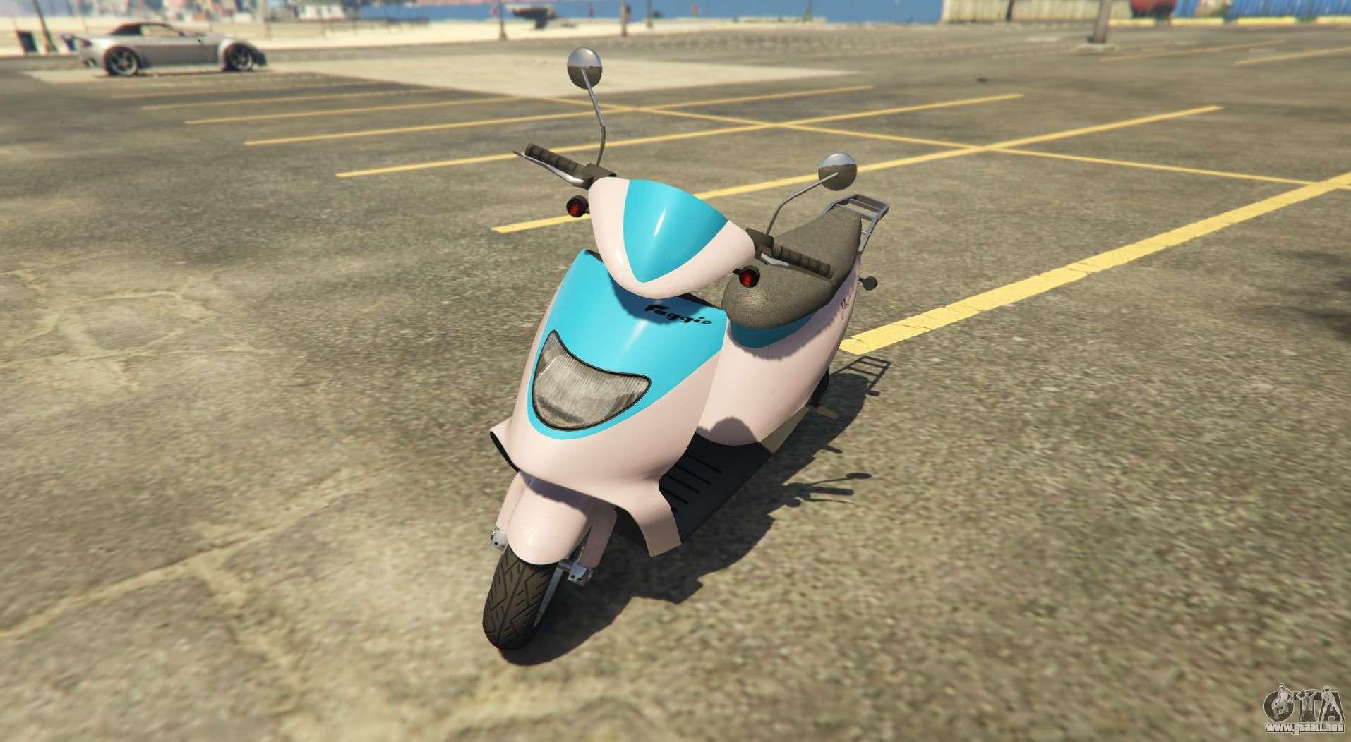 Scooter deportiva Pegassi Faggio Sport