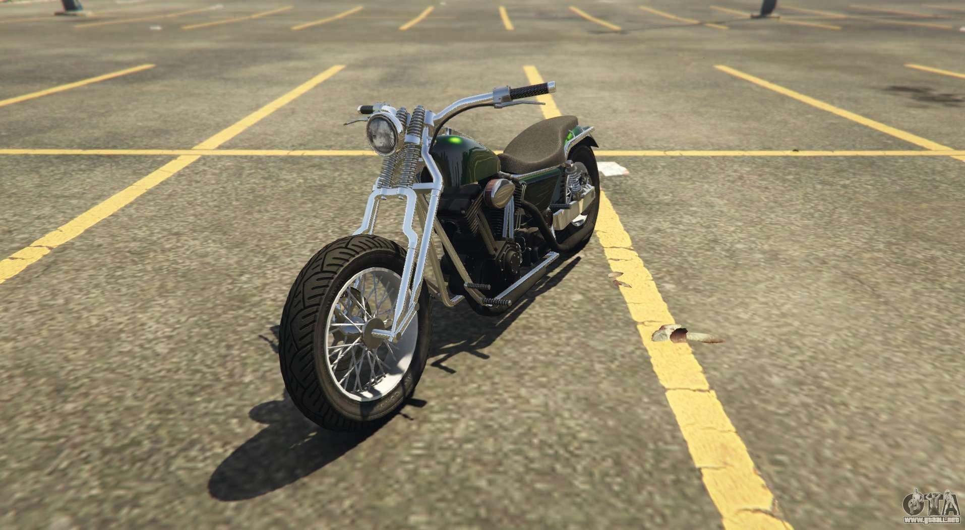Otro clásico de chopper Western Wolfsbane en GTA Online