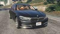 BMW 750 LI 2016 para GTA 5
