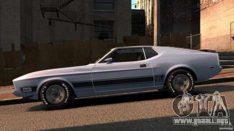 Ford Mustang Mach 1 1973 v2 para GTA 4 left