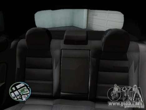 Volkswagen Golf V R32 Black edition para la vista superior GTA San Andreas