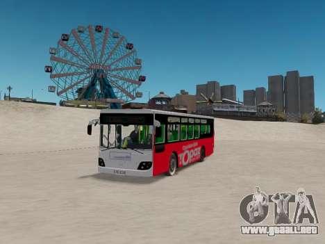 Daewoo BC211MA Baku para GTA 4 vista hacia atrás