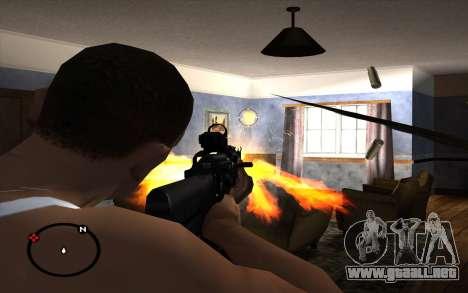 AK-103 para GTA San Andreas sucesivamente de pantalla