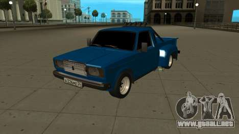 VAZ 2107 Ford para GTA San Andreas left
