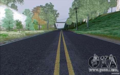 Carretera HD v3.0 para GTA San Andreas tercera pantalla
