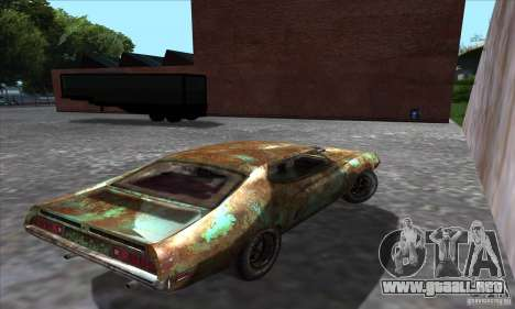 Ford Torino Cobra 429 SCJ para GTA San Andreas left