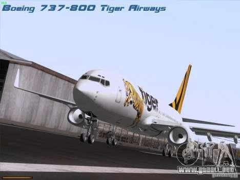Boeing 737-800 Tiger Airways para GTA San Andreas