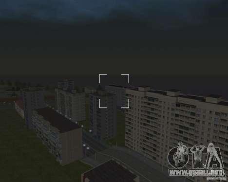 Nižegorodsk v0.5 BETA para GTA San Andreas sucesivamente de pantalla