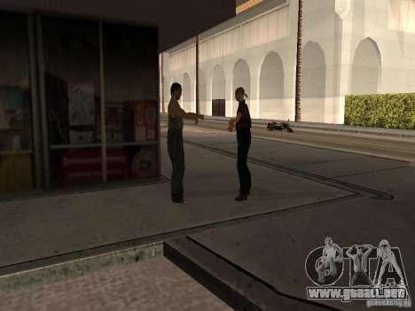 Gasolinera ocupado en Los Santos para GTA San Andreas quinta pantalla