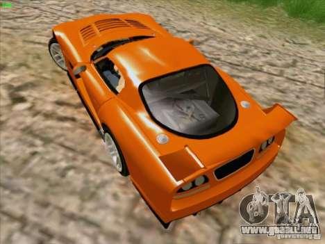 Dodge Viper GTS-R Concept para visión interna GTA San Andreas