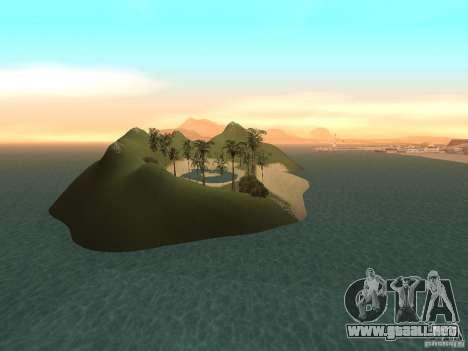 Volcano para GTA San Andreas quinta pantalla
