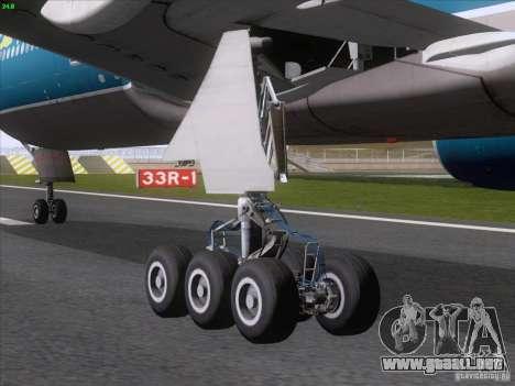 Boeing 777-2Q8ER Vietnam Airlines para la visión correcta GTA San Andreas