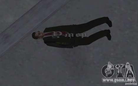 Animar el cuerpo del GTA IV para GTA San Andreas