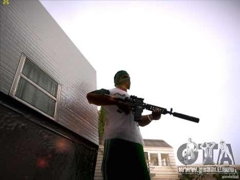 M4 Close Quarters Combat para GTA San Andreas