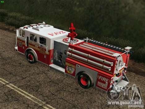 Seagrave Marauder II Engine 62 SFFD para GTA San Andreas