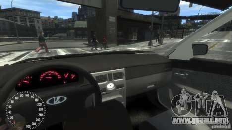 VAZ-2172 Pitbull para GTA 4 vista hacia atrás