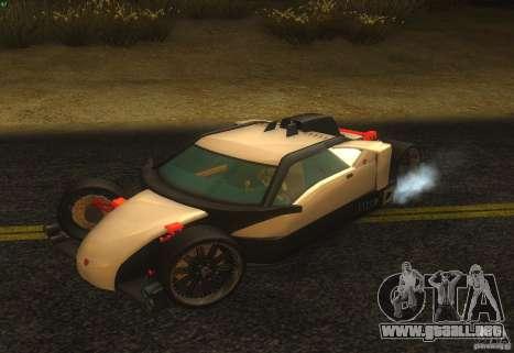 Guardia para vista lateral GTA San Andreas