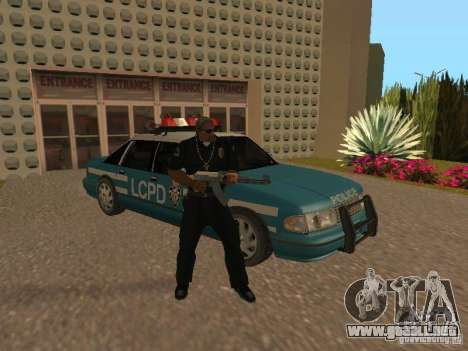 HD Police from GTA 3 para vista inferior GTA San Andreas