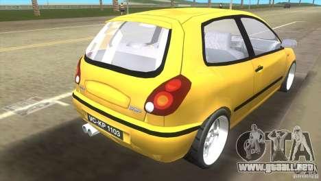 Fiat Bravo para GTA Vice City left