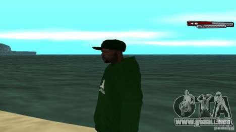 Sweet para GTA San Andreas segunda pantalla
