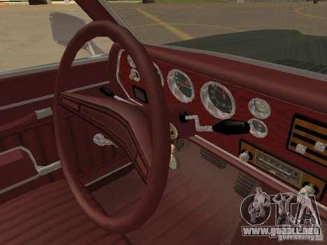 1970 Chevrolet Monte Carlo para la vista superior GTA San Andreas