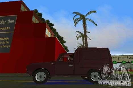 IZH 2715 para GTA Vice City visión correcta