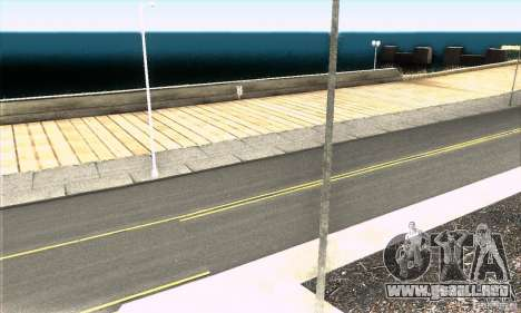 Real HQ Roads para GTA San Andreas quinta pantalla