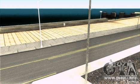 Real HQ Roads para GTA San Andreas quinta pantalla