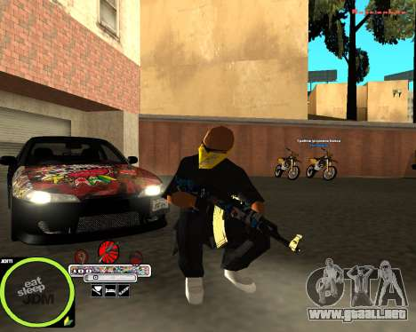 Weapon Pack by Alberto para GTA San Andreas