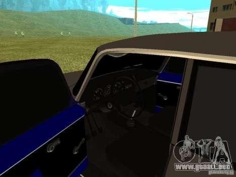 Moskvich 2140 para GTA San Andreas vista hacia atrás