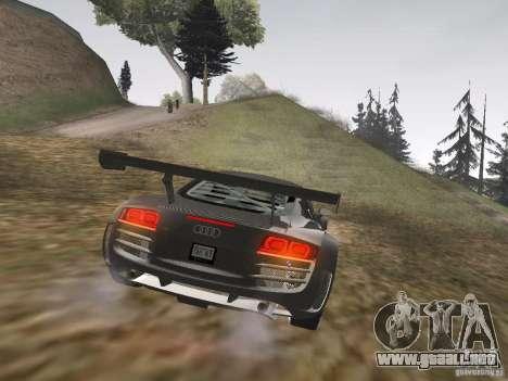 Audi R8 LMS v3.0 para la visión correcta GTA San Andreas